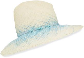 Gigi Burris Millinery Drake Ombre Woven Straw Panama Hat