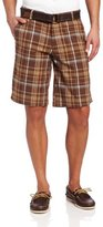 U.S. Polo Assn. Men's Yarn Dyed Flat-Front Short