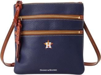 Dooney & Bourke MLB Astros N S Triple Zip Crossbody