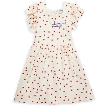 Bobo Choses Little Girl's & Girl's Dotted Ruffle Dress