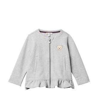 Steiff Baby Girls' Sweatshirt Cardigan Sweat Jacket