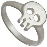 Blu Bijoux Silver Skull Ring