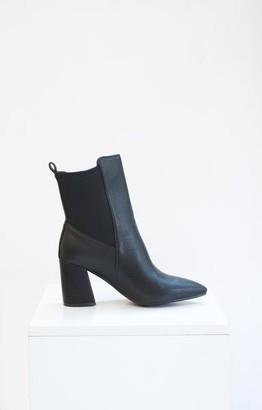 Collection & Co - Black Melita Cowboy Boots - 35 / Black