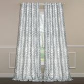 Laura Ashley Florence 84-Inch Double-Wide Window Curtain Panel Pair