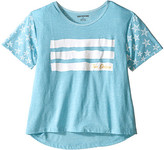 True Religion Stars & Stripes Drape Tee (Little Kids/Big Kids)
