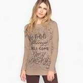 Anne Weyburn Stretch Cotton T-Shirt