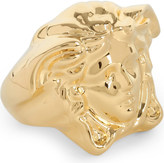 Versace Medusa large gold-plated ring