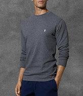 Polo Ralph Lauren Waffle-Knit Crewneck Thermal Shirt