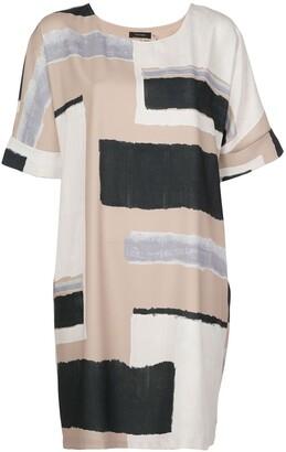 Natori Short Panelled Shift Dress