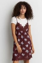 American Eagle Outfitters AE Printed Slip Dress