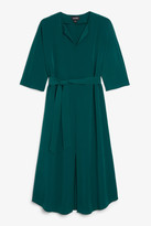 Monki Belted midi dress