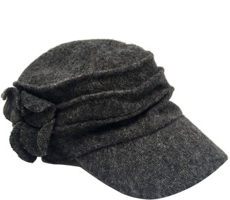 San Diego Hat Co. Wool Cadet with Flower