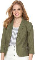 Lauren Conrad Women's Linen Blend Blazer