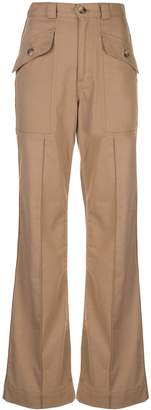 Trave Denim Ava flared trousers