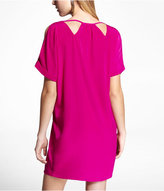 Express Cut-Out And Cold Shoulder Tunic Dress