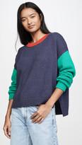 525 Colorblock Crew Sweater