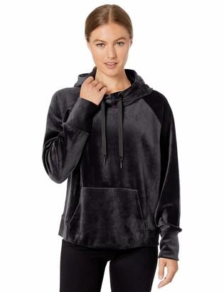 Core 10 Luxe Velvet Hoodie Hooded Sweatshirt