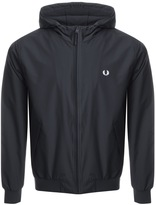 Fred Perry Hooded Brentham Jacket Navy