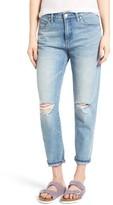 Blank NYC Women's Blanknyc Ripped Boyfriend Jeans