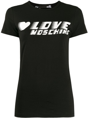 Love Moschino logo jersey T-shirt
