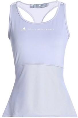 adidas by Stella McCartney Printed Stretch-jersey And Mesh Tank