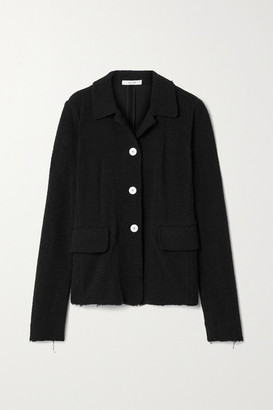 The Row Annica Boucle Jacket - Black