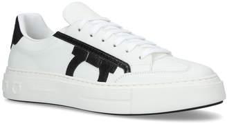Salvatore Ferragamo Borg Gancio Sneakers