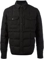 Ami Alexandre Mattiussi Snap-Buttoned Jacket - men - Cotton/Polyamide/Virgin Wool - M