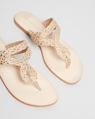 Atmos & Here Erika Woven Sandals