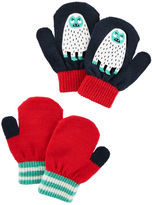 Osh Kosh 2-Pack Snow Monster Mittens