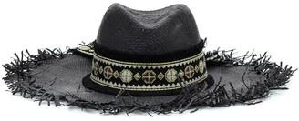 Etro Embellished straw hat