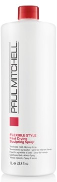 Paul Mitchell Fast Drying Sculpting Spray, 33.8-oz, from Purebeauty Salon & Spa