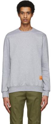 Paul Smith and Christoph Niemann Grey Hello Sweatshirt