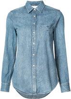 Rag & Bone classic denim shirt - women - Silk/Cotton - S