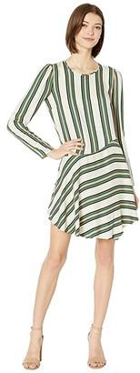 BCBGeneration Asymmetric Dress TOR6252473 (Multi) Women's Clothing
