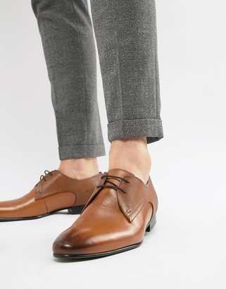 Ted Baker Peair derby shoes in tan leather