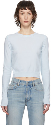Acne Studios Blue Crewneck Sweater