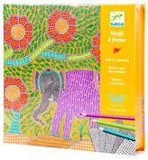 Djeco NEW Mithila Paper Pattern Rubbing Set