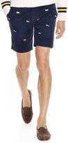 Ralph Lauren Straight-fit Embroidered Short
