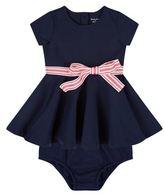Polo Ralph Lauren Striped Bow Dress