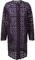 MSGM crochet coat - women - Cotton/Polyester - 42