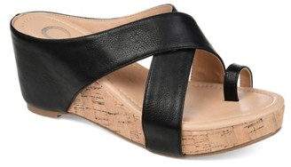 Journee Collection Rayna Wedge Sandal