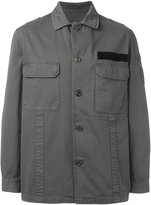 Golden Goose Deluxe Brand single breasted military jacket - men - Cotton - S