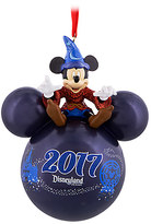 Disney Sorcerer Mickey Mouse Icon Ornament - Disneyland 2017