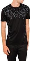 Versace Flock Baroque T Shirt