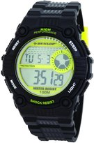 Dunlop Men's Chronograph Watch DUN-176-G12-Triad-100M Water Resistant, El Backlight