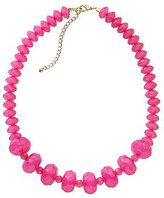 JCPenney Color Craze Pink Faceted Necklace