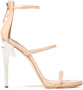 Giuseppe Zanotti Alien 115 Patent-leather Sandals