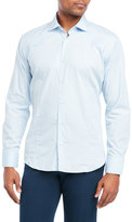 Bogosse Blue Button-Down Shirt