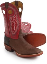 "Nocona Caprock Cowboy Boots - 11"", Square Toe (For Men)"